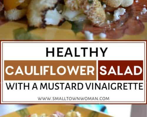 Healthy Cauliflower Salad