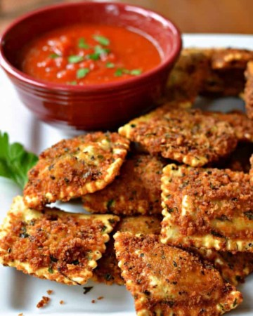 Toasted Ravioli (A Delcious Easy St. Louis Tradition)