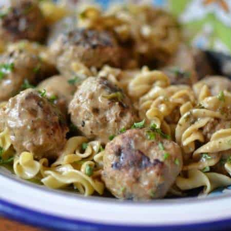 Savory Sweet Swedish Meatballs