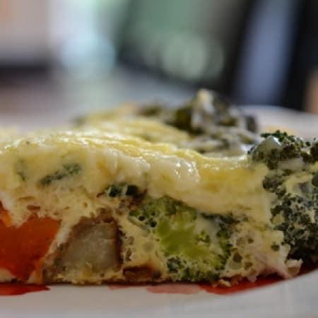 Cheesy Veggie Frittata