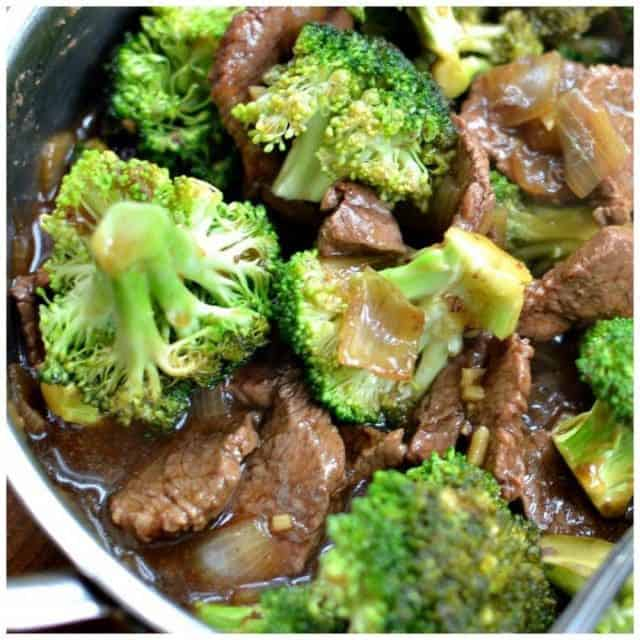 So delicious and easy Skillet Beef amp Broccoli!!! smalltownwomanfoodnut