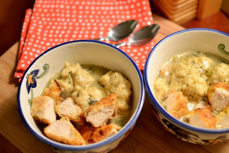 The Best Chicken And Dumplings Small Town Woman
