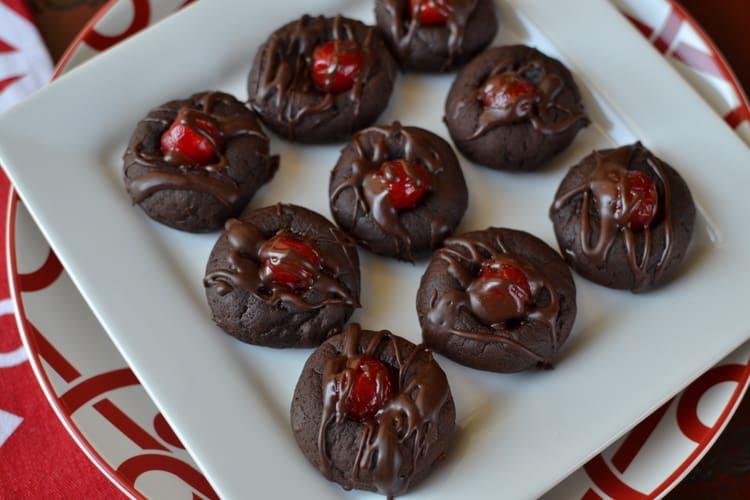 Cherry Chocolate Cookie Recipes