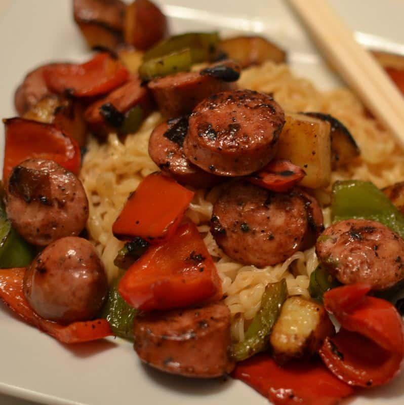 ramen-noodles-sausage