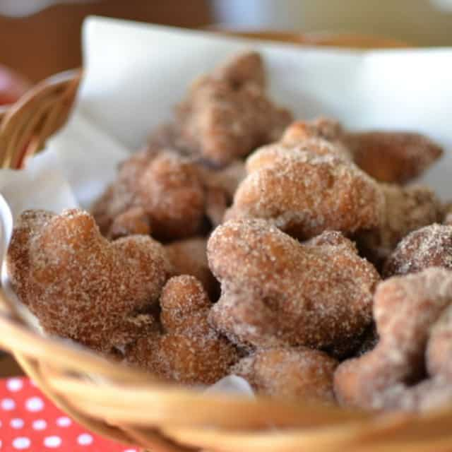 Delectable warm apple fritters!smalltownwoman.com