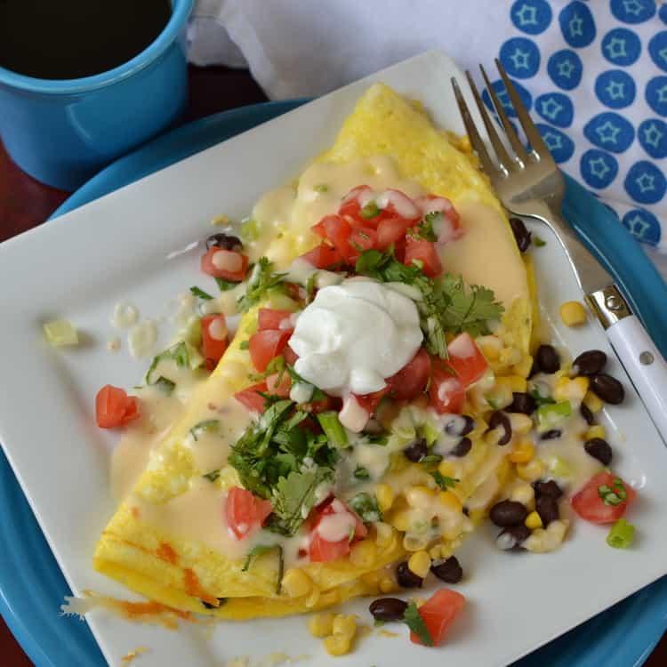 Mexican Omelette Recipe — Dishmaps