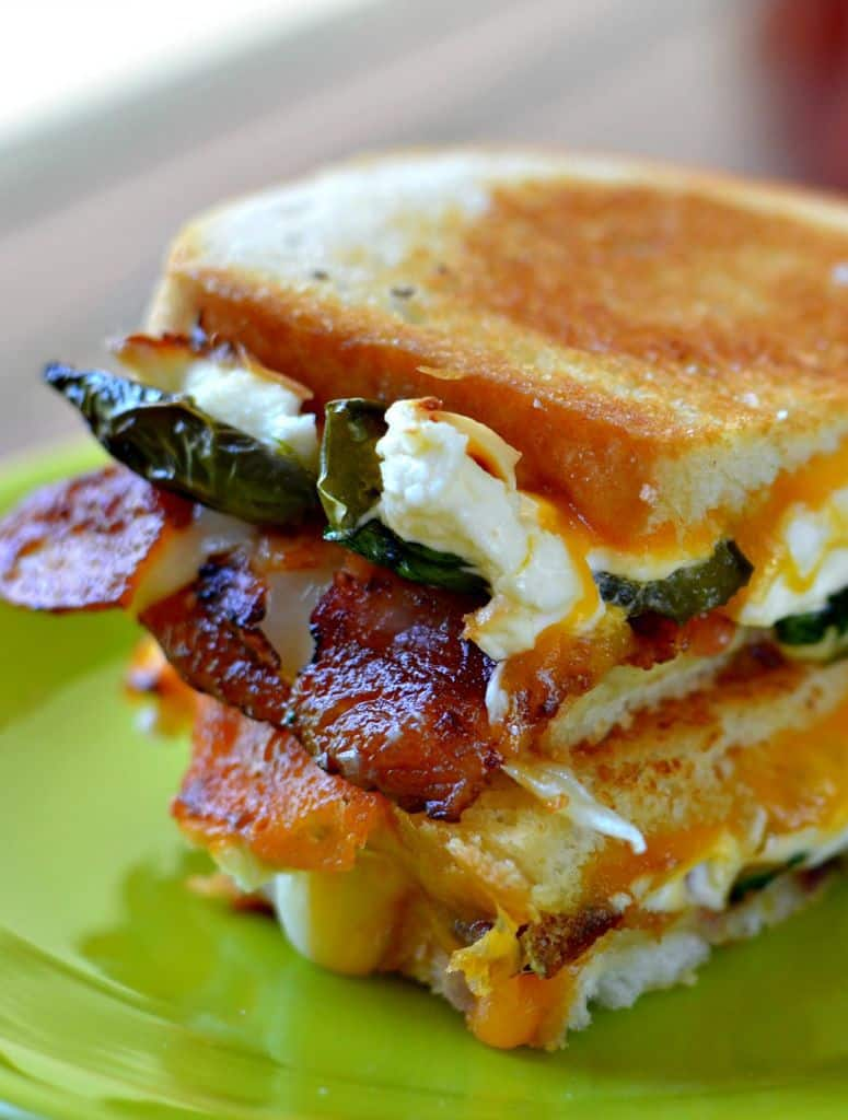 Jalapeno Poppers Grilled Cheese Recipe