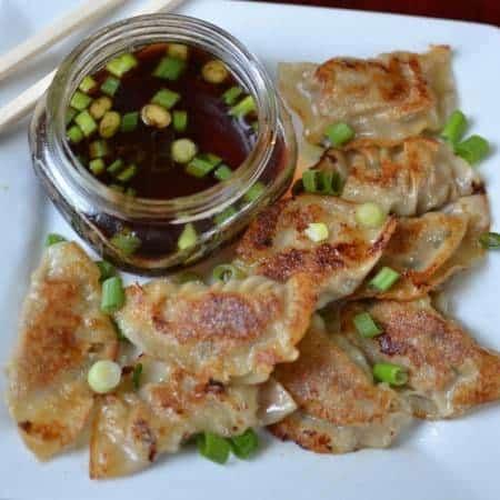Sweet Pork Fried Dumplings