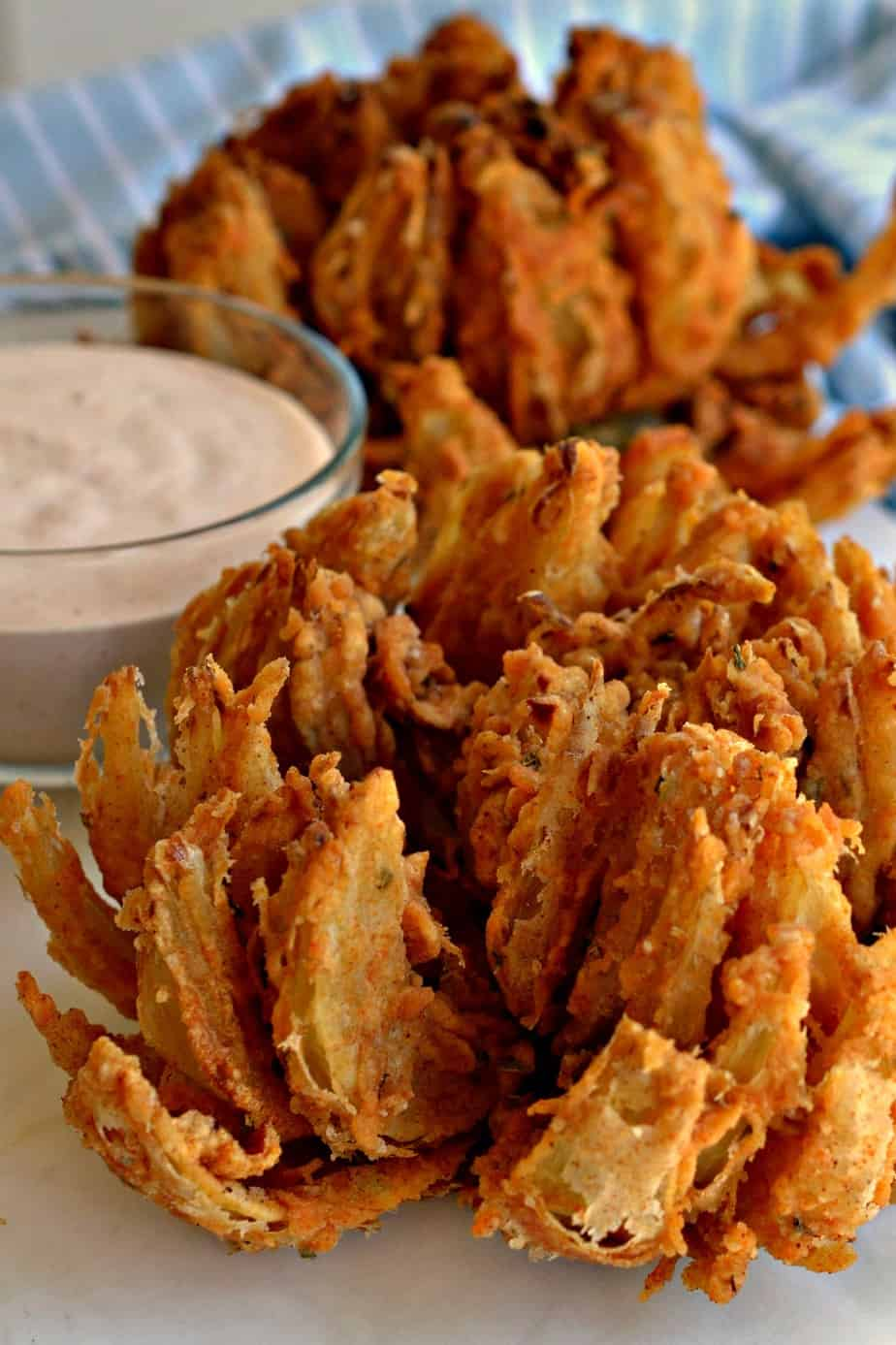 Better than Outbacks these Blooming Onions are super simple to make.