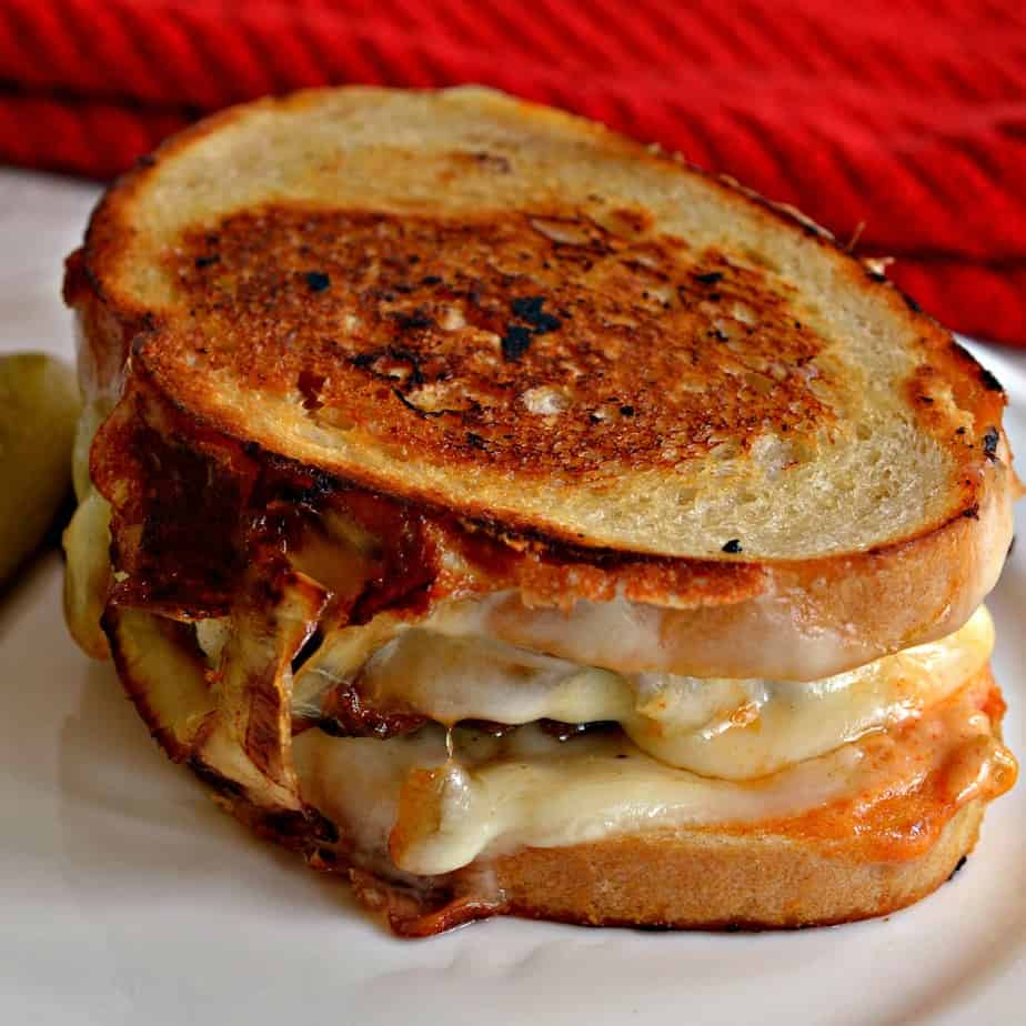A classic Patty Melt recipe that brings back old world diner charm with grilled onions and Swiss Cheese.