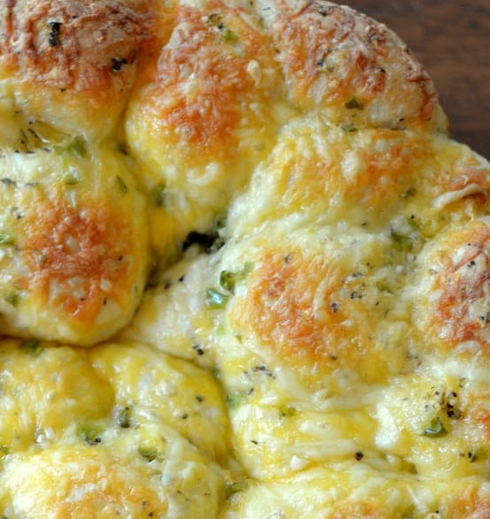 Cheesy Jalapeno Pull Bread Recipe — Dishmaps