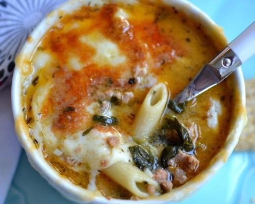 Sausage Penne Soup