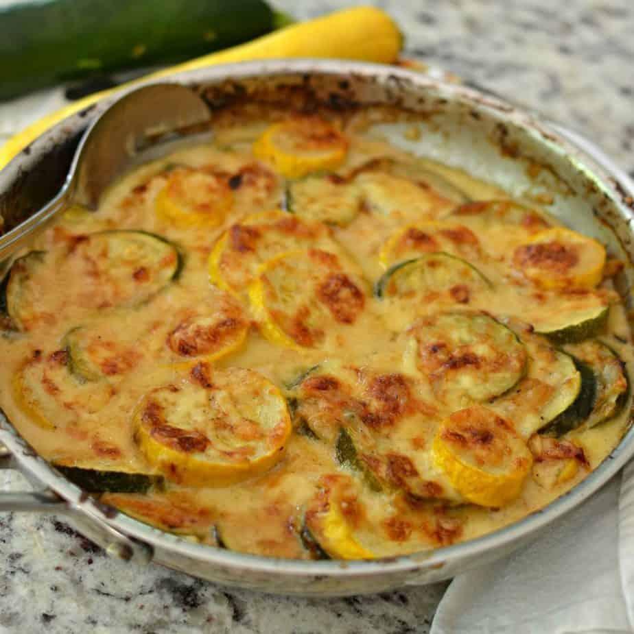 Delectable Zucchini Gratin