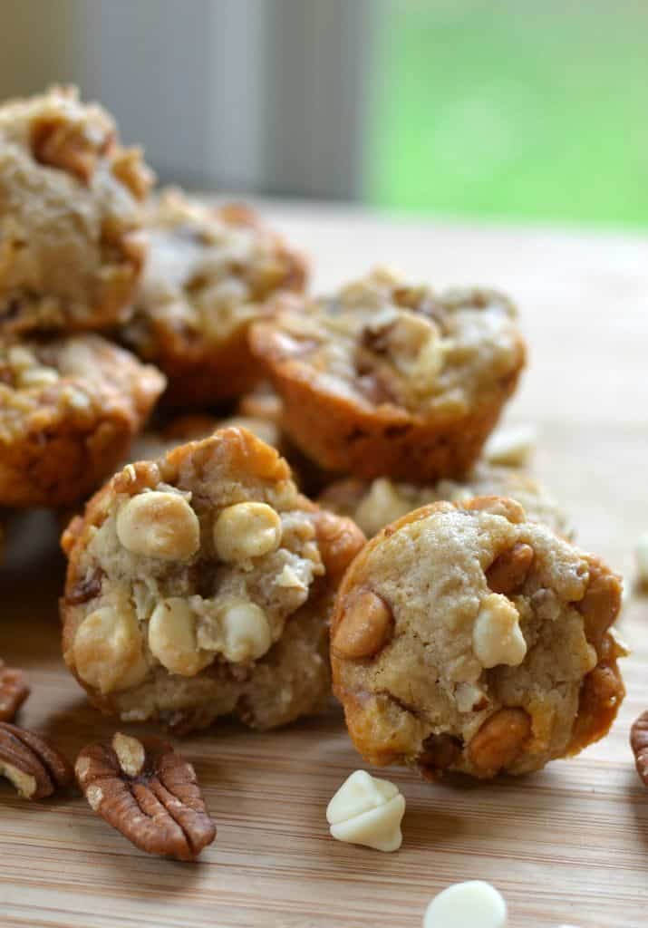 Mini Butter Pecan Cookies