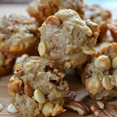 Easy Mini Butter Pecan Cookies