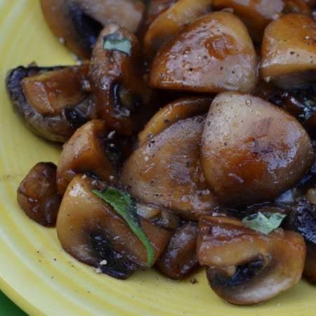 Golden Mirin Mushrooms