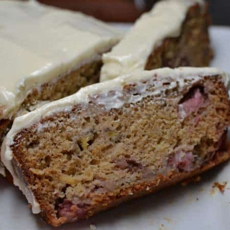 Strawberry Banana Pineapple Bread