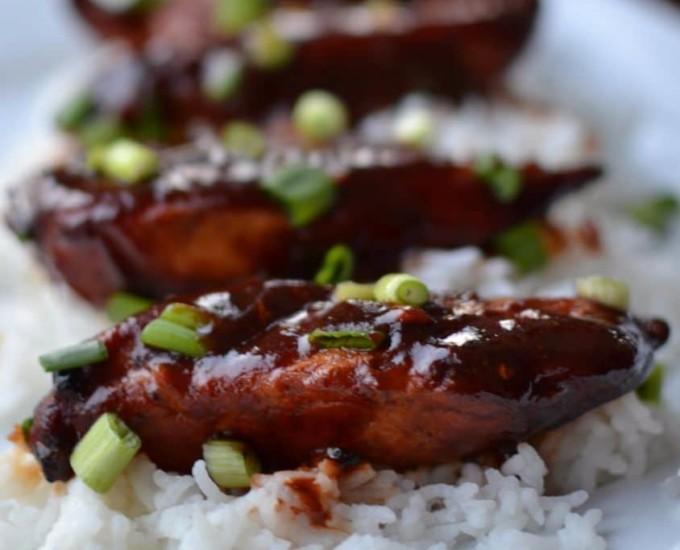 Asian Braised Chicken Tenders