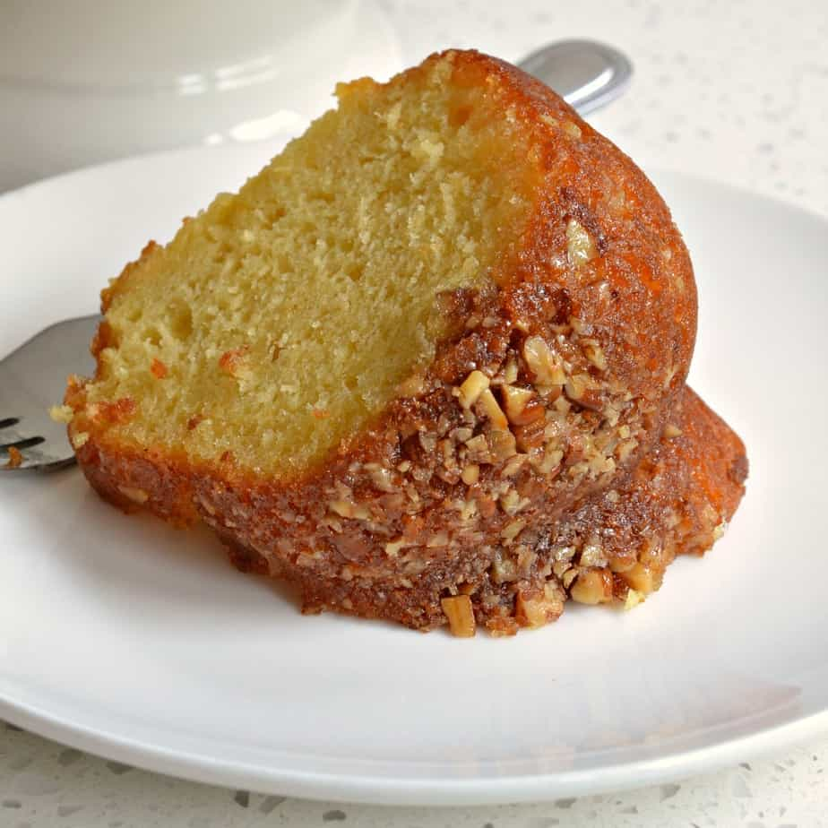 In less than fifteen minutes prep time you have the perfect Rum Cake for potlucks, family reunions and holiday parties.