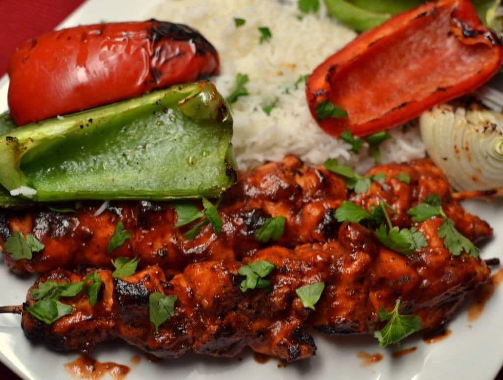 Barbecue Chicken Skewers (2)
