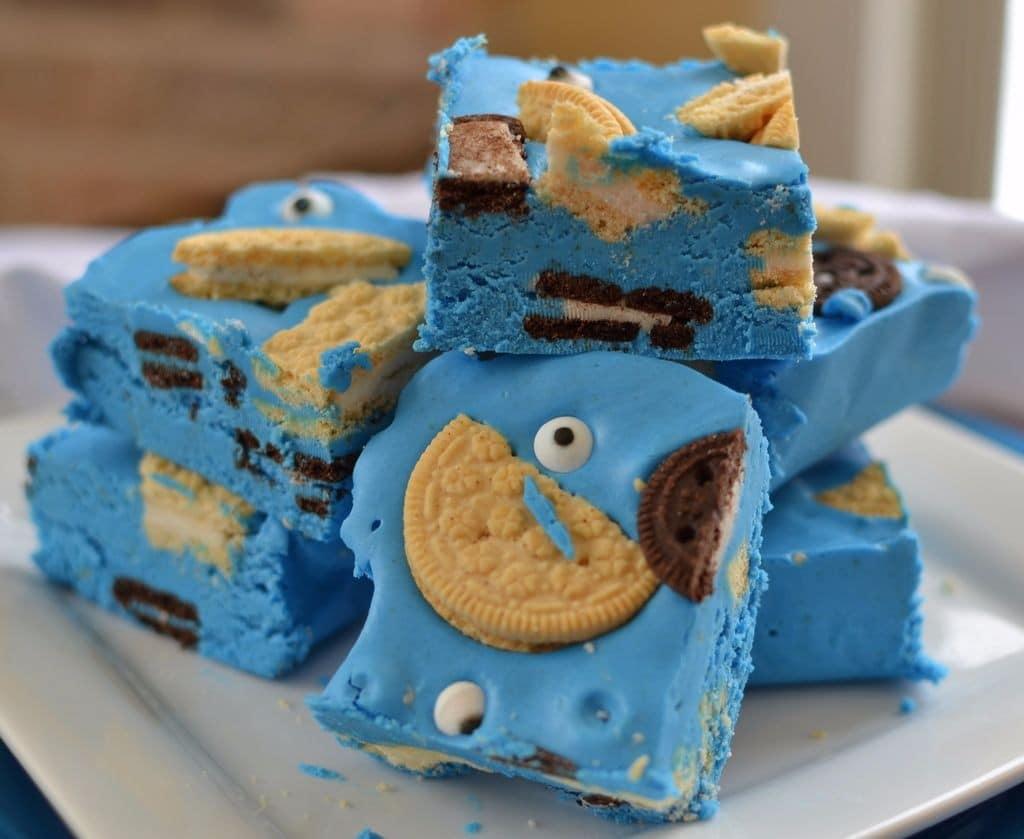 Cookie Monster Fudge (2)