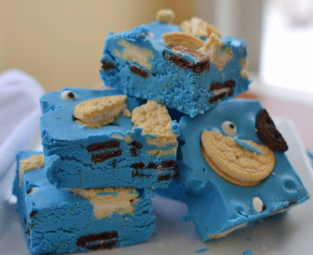 Cookie Monster Fudge (3)
