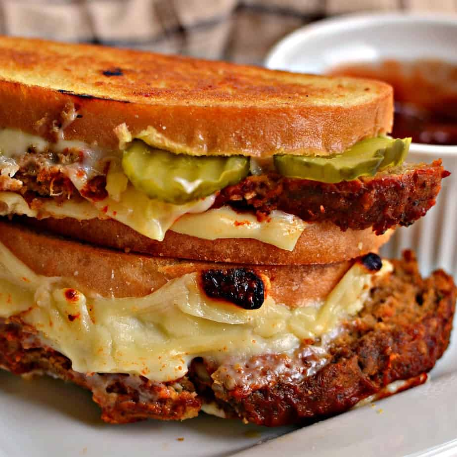 These Grilled Meatloaf Sandwiches An easy family friendly recipe that comes together in a matter of minutes.