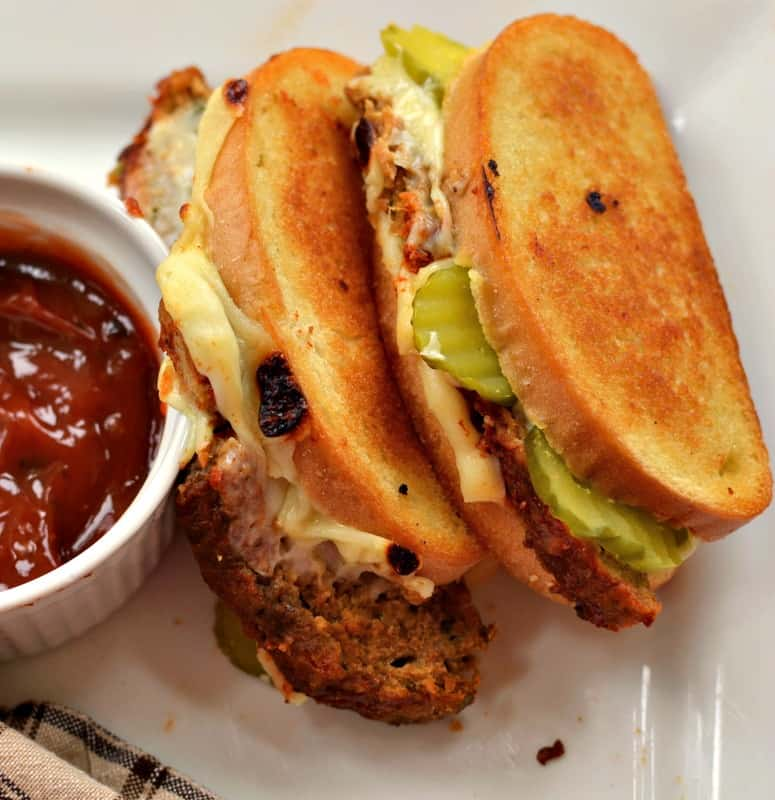 These Grilled Meatloaf Sandwiches have been a favorite of ours for as long as I can remember.
