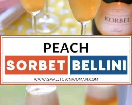Peach Bellini