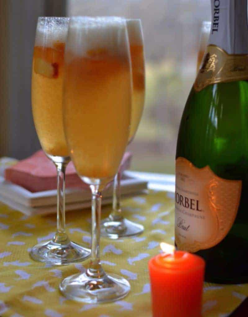 Peach Sorbet Bellini (2)