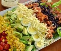 Barbecue Chicken Cobb Salad-002