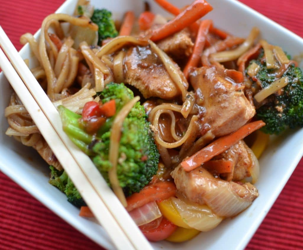 Chili Sauce Chicken Stir Fry | Small Town Woman