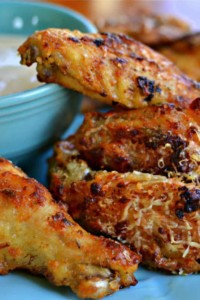How to Make Garlic Parmesan Chicken Wings