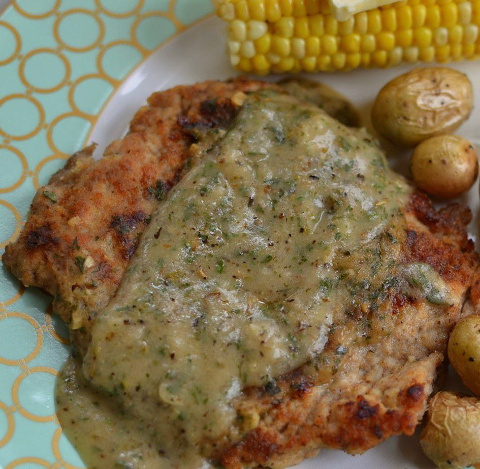 Pan Fried Pork Cube Steak With Herb Gravy Small Town Woman