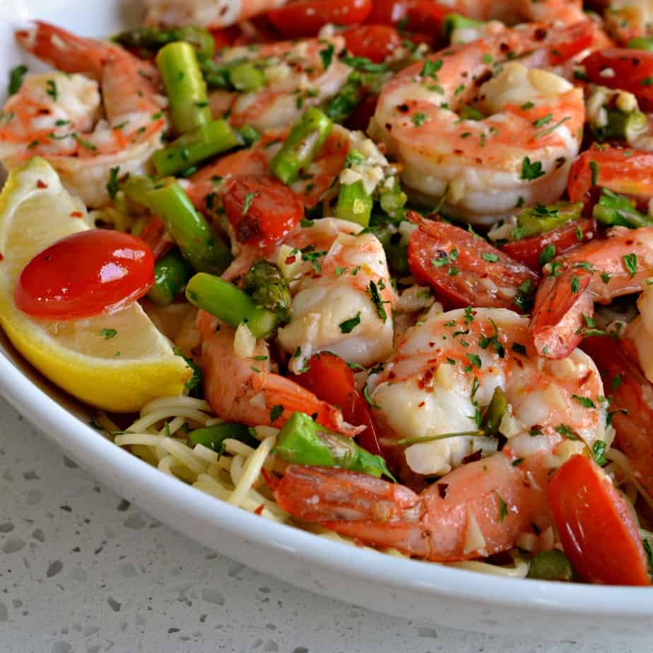 Shrimp Scampi is elegant enough for company yet easy enough for one on a weeknight.