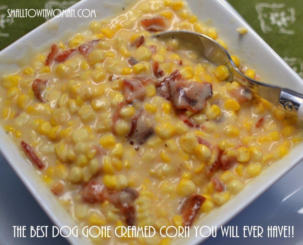 sweet cream corn can be a little sinful chock full of crispy sweet ...
