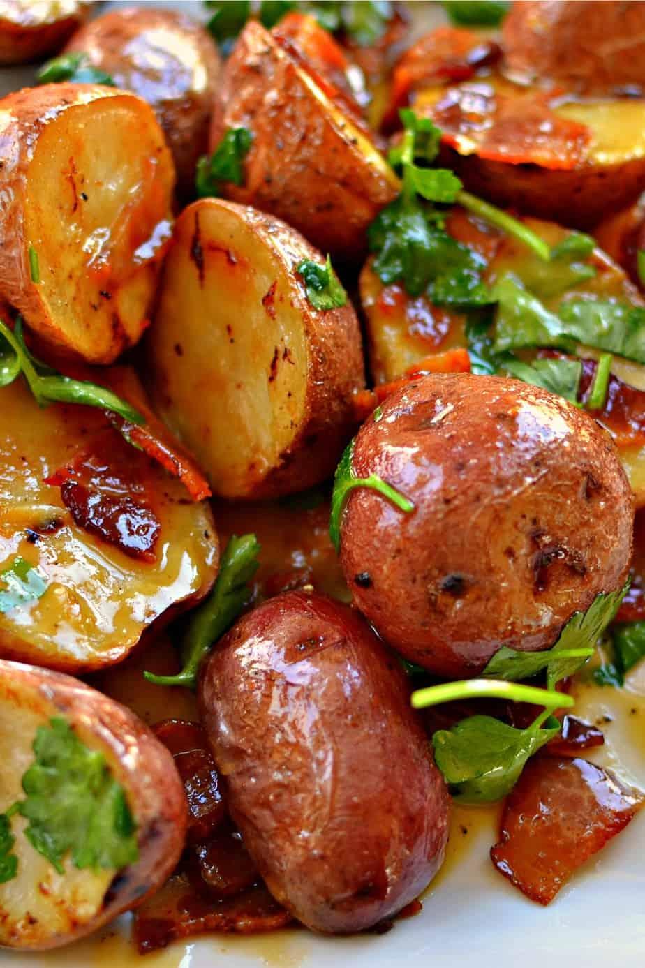 Sweet Potato Salad With Dijon Mustard