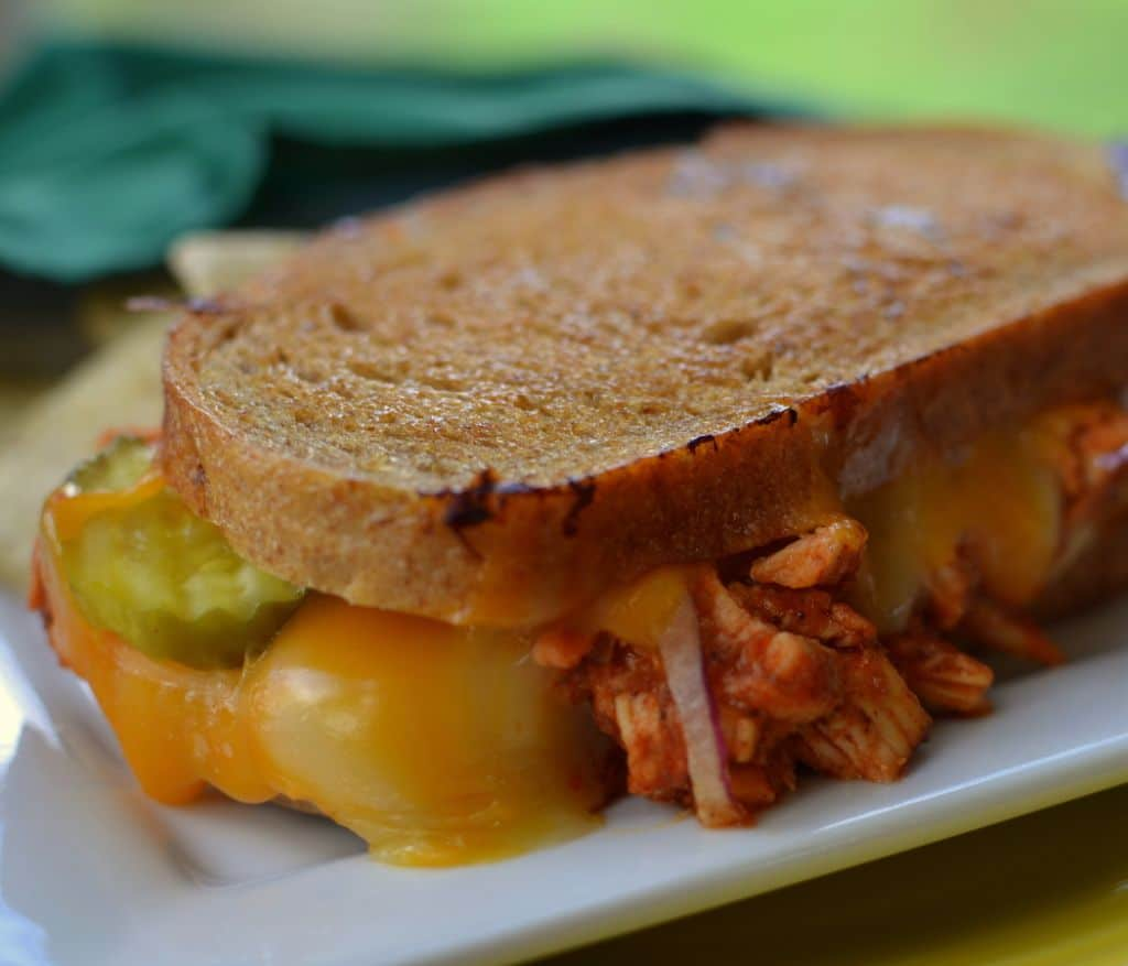 Barbecue Chicken Grilled Cheese (6)