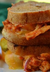Barbecue Chicken Grilled Cheese (9)-001
