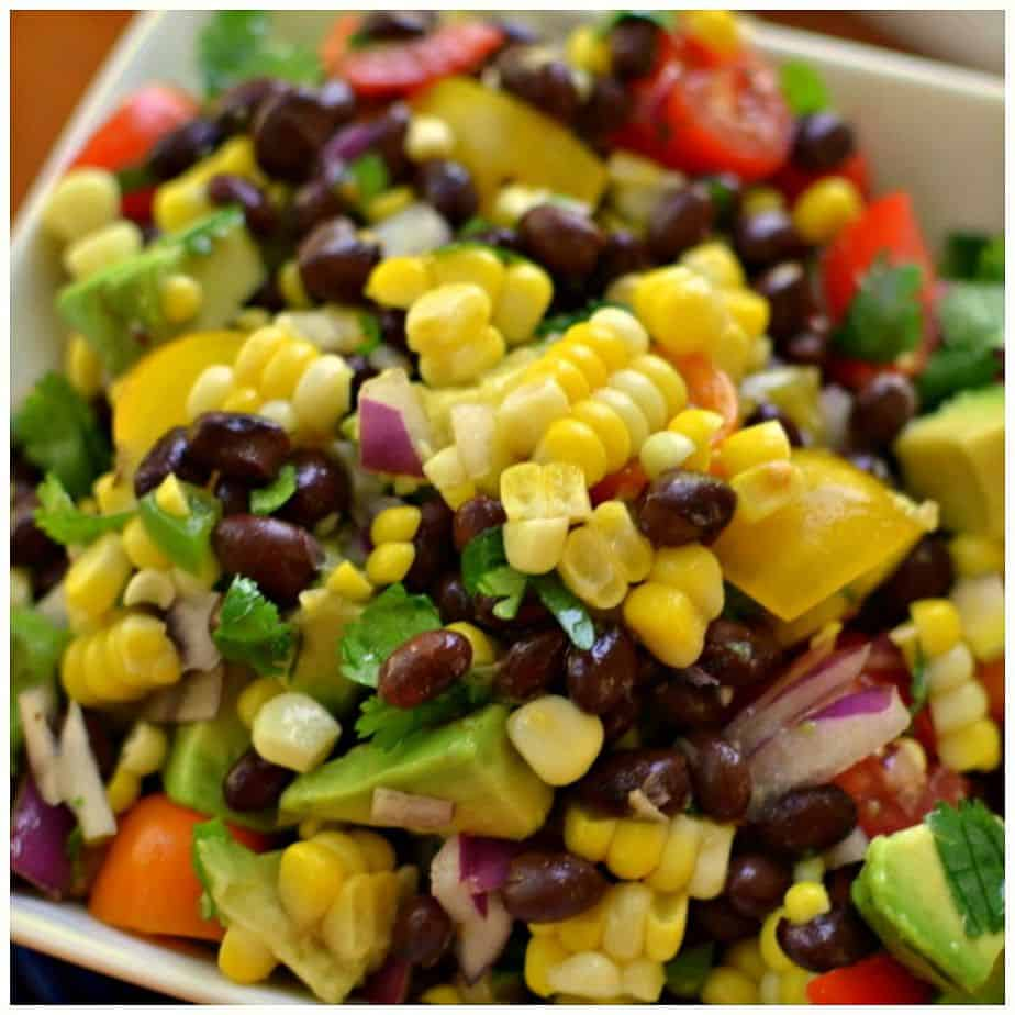 Fresh Black Bean and Corn Salad