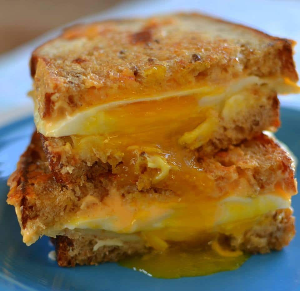 Breakfast Grilled Cheese II