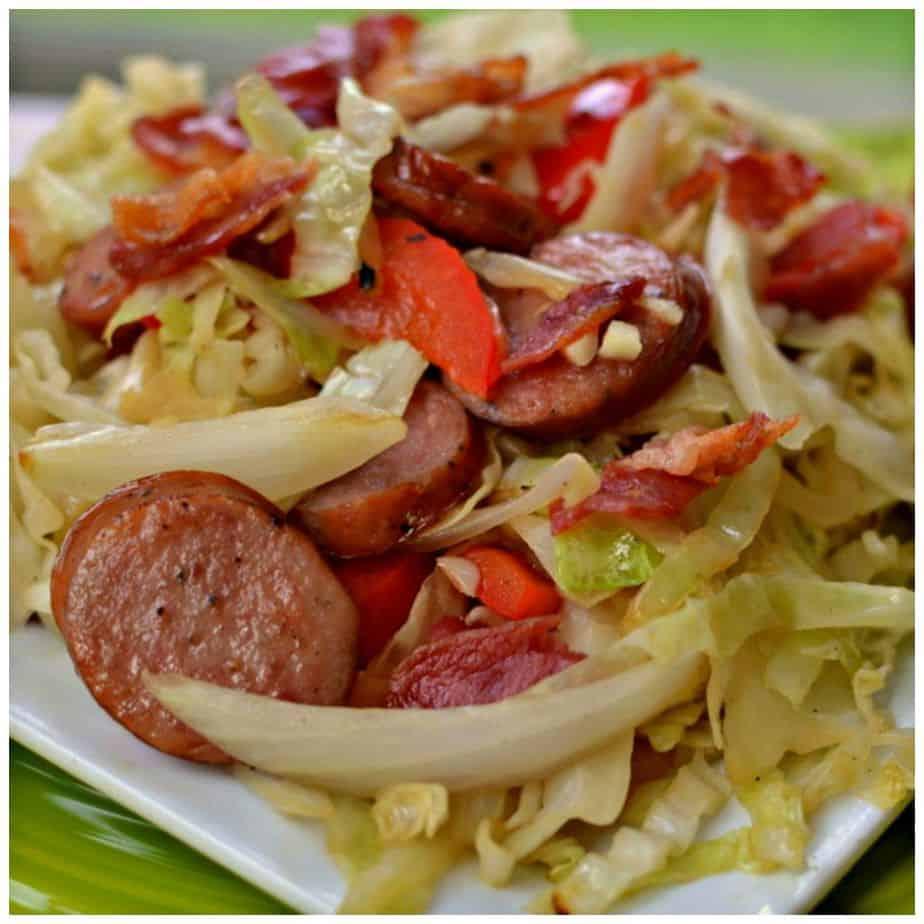 Smoked Sausage And Cabbage Recipe
