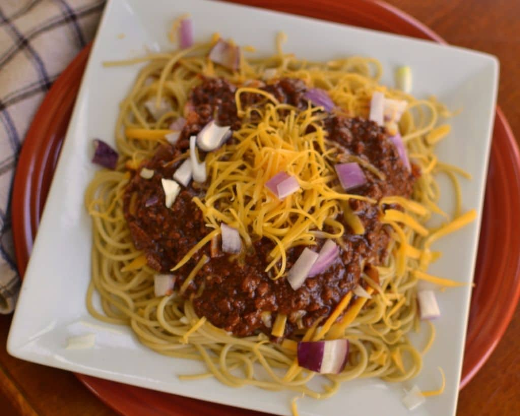 Amazing and Easy Cincinnati Chili