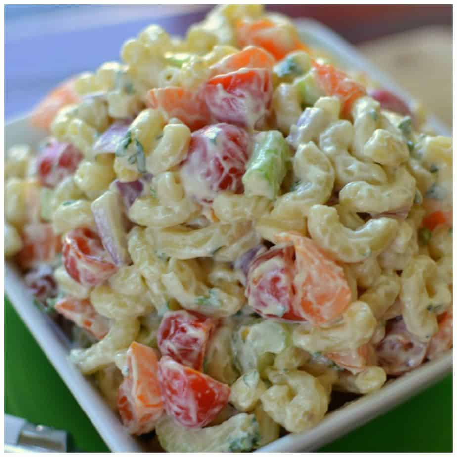 10 mustmake macaroni salad recipes how to cook chicken macaroni salad ...