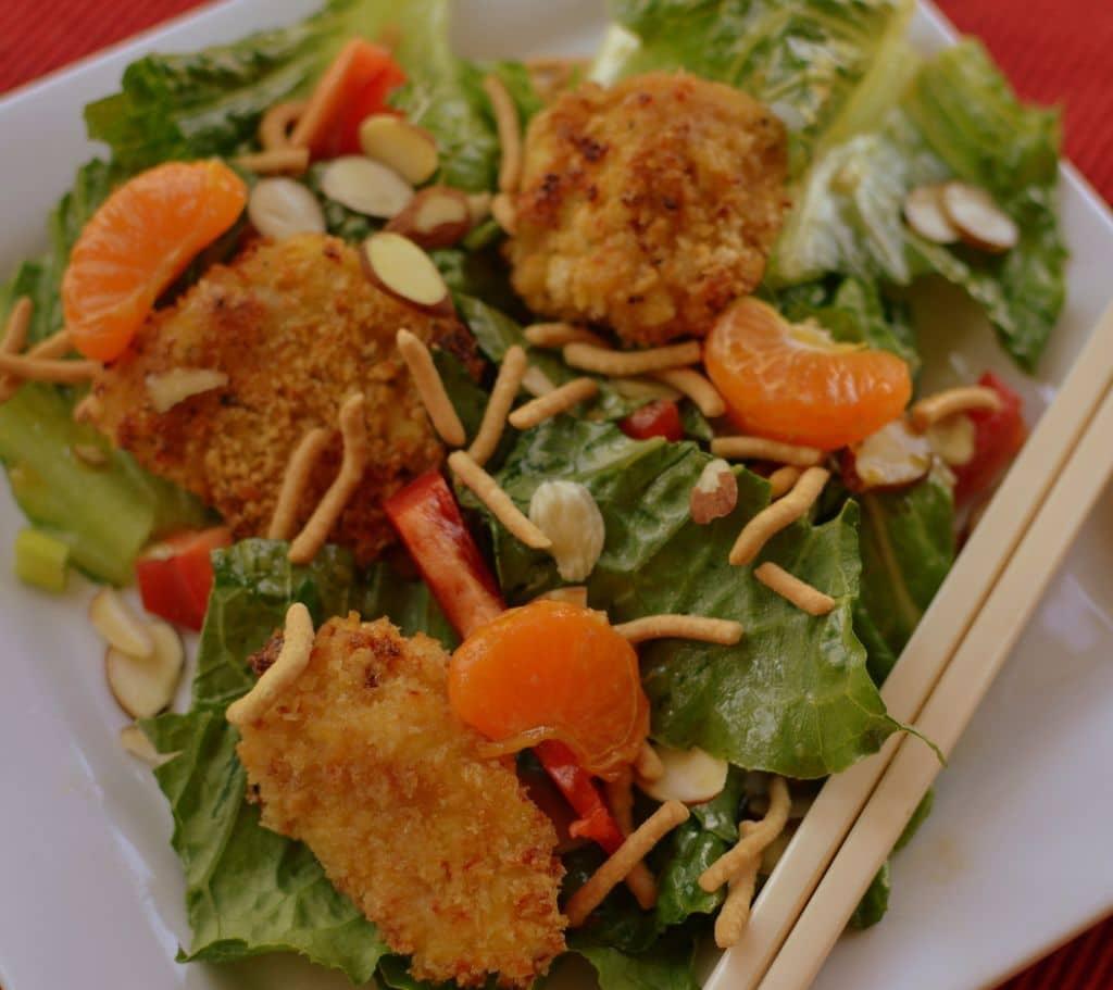 Crunchy Asian Chicken Salad (2)