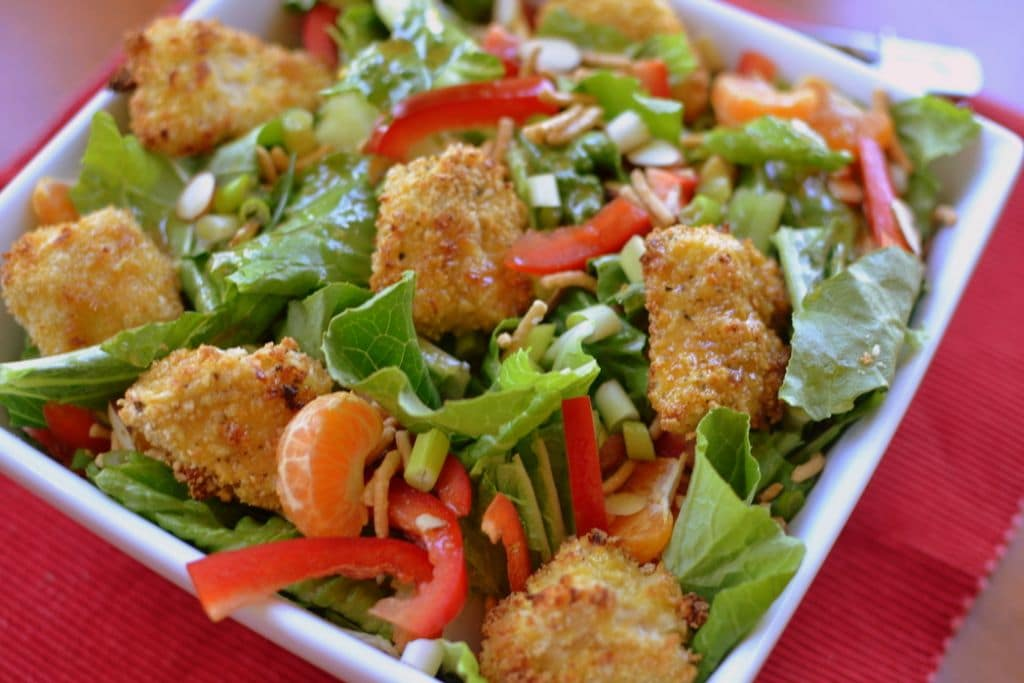 Crunchy Asian Chicken Salad   Small Town Woman
