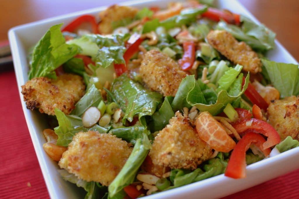 Crunchy Asian Chicken Salad (6)