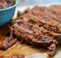 Durch Oven Barbecue Beef Brisket-002
