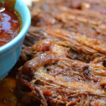 Dutch Oven Barbecue Beef Brisket