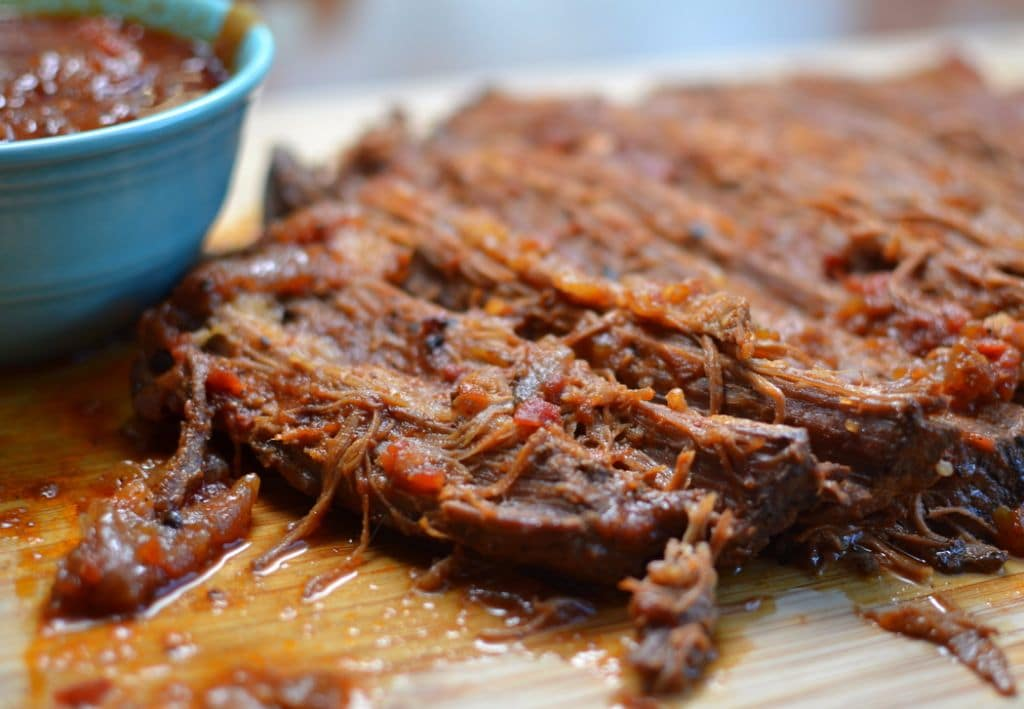 Durch Oven Barbecue Beef Brisket is tender, juicy and so flavorful